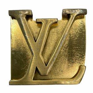 LV belt buckle
